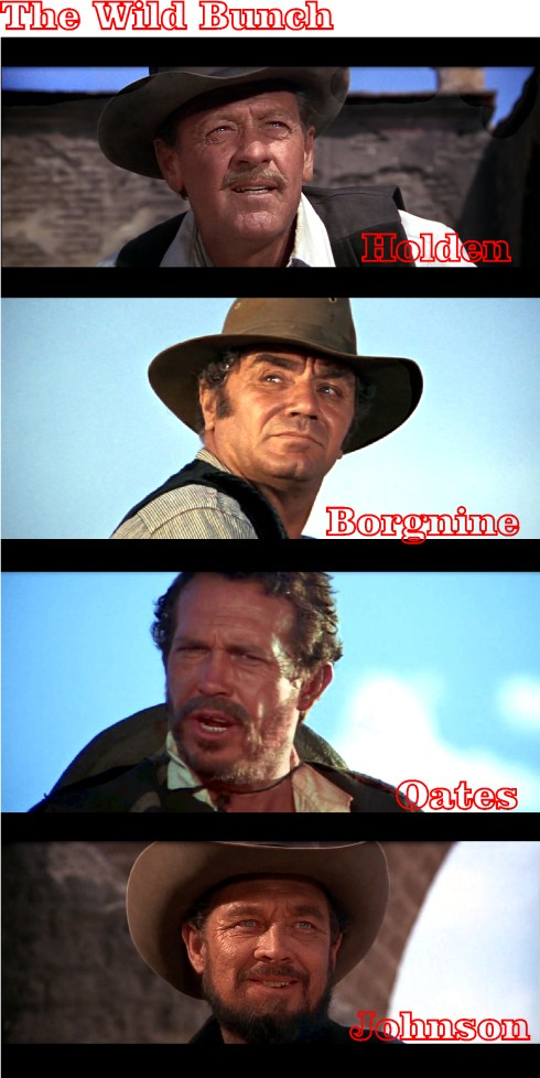 The Wild Bunch portraits