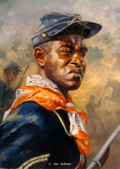 BUFFALO SOLDIER - Les Lefevre