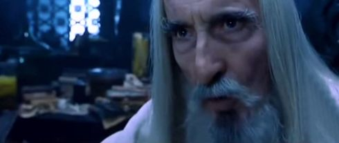Christopher Lee LOTR 2