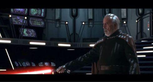 Christopher Lee Star Wars 2