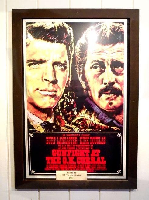 Old Tucson Studios OK Corral Poster 2