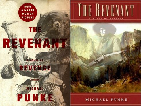 The Revenant book covers
