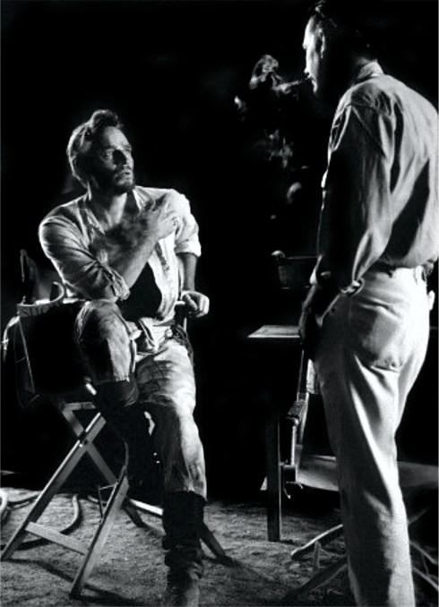 Major Dundee - Heston and Peckinpah - In the dark