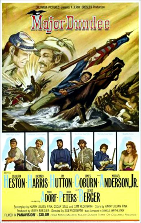 Major Dundee poster 3
