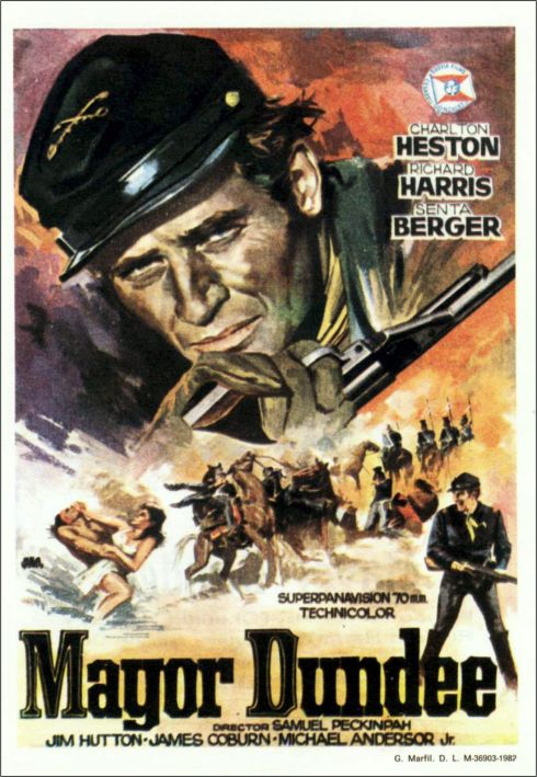 Major Dundee poster 4