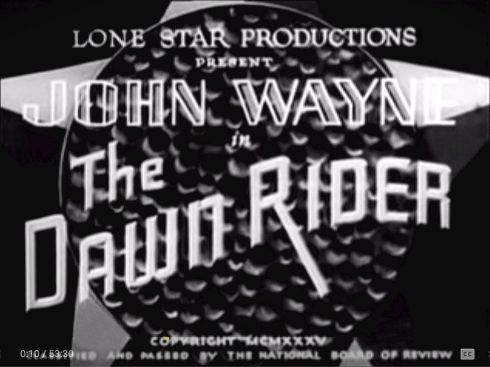 The Dawn Rider banner