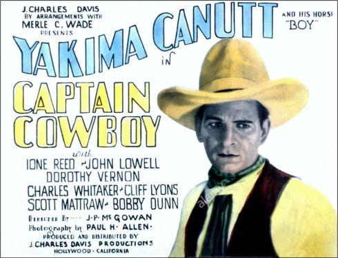 YAKIMA CANUTT Captain Cowboy