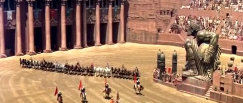 Ben Hur - chariot race 1959
