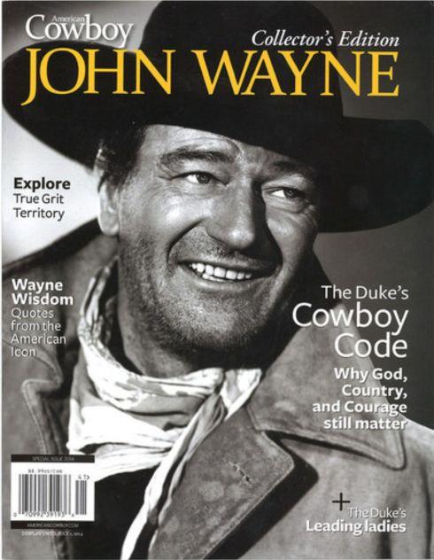 John Wayne American Cowboy Magazine 3