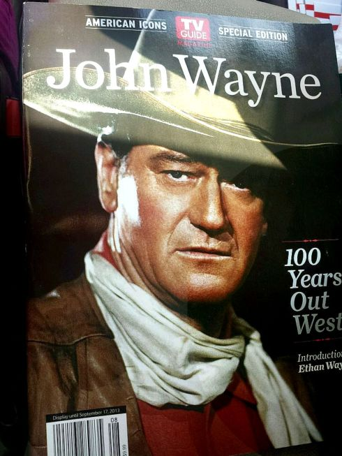 John Wayne TV Guide Magazine
