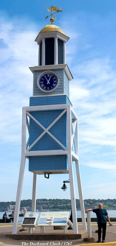 Halifax Dockyard Clock
