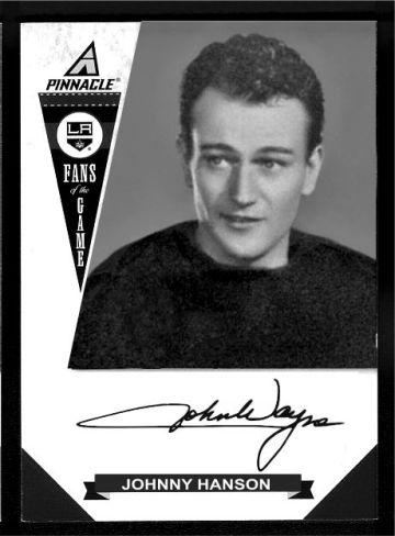 JOHN WAYNE 1937 idol of the crowds hockey card