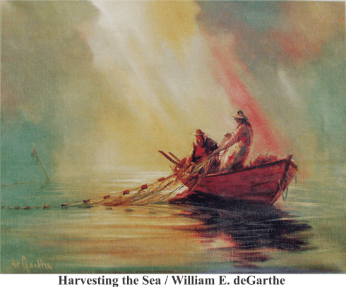 nova-scotia-peggys-cove-harvesting-the-sea-willam-degarthe