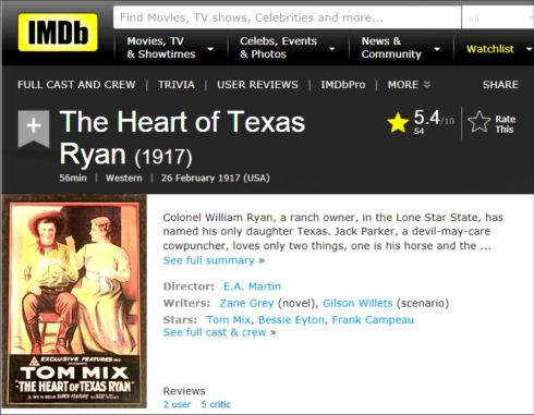the-heart-of-texas-ryan-1917-review