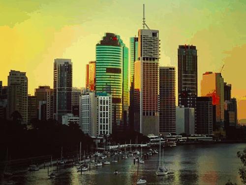 Best Brisbane Sunset - Kangaroo Point Cliffs