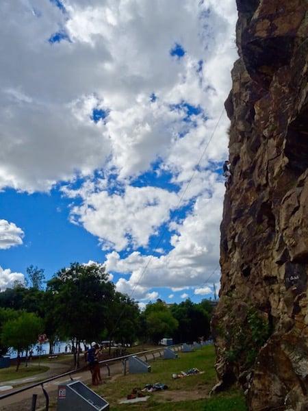 Brisbane Kangaroo Point Cliff Climbing