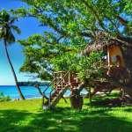 Accommodation Port Olry Espiritu Santo Family Tree House Serenity Beach