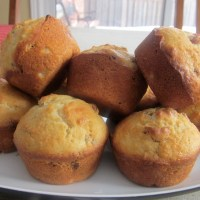 Sultana Coconut Muffins