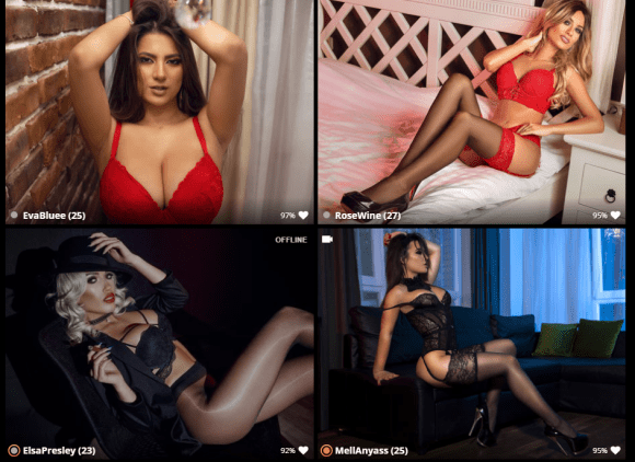 live cam models with a nylon and pantyhose fetish