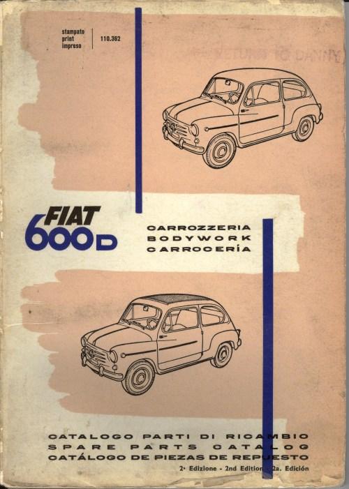 small resolution of fiat 600d bodywork