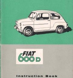 1964 fiat 600d instruction book [ 3532 x 4968 Pixel ]