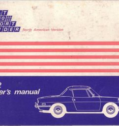 1972 fiat 850 spider owner s manual [ 1231 x 859 Pixel ]