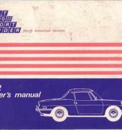 1972 fiat 850 spider owner s manual [ 1231 x 859 Pixel ]