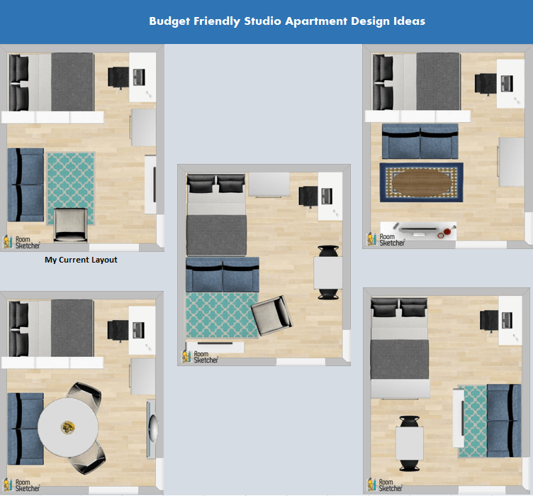 Studio Apartment Layouts How To Guide  The Finance Fairy