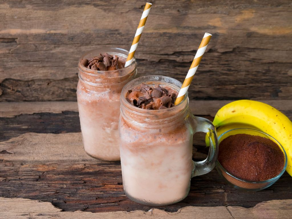 Peanut-Butter-Oatmeal-Almond-Milk-Cinnamon-Cayenne-Liquid-Stevia-Healthy-Weight-Loss-Smoothie-Recipes