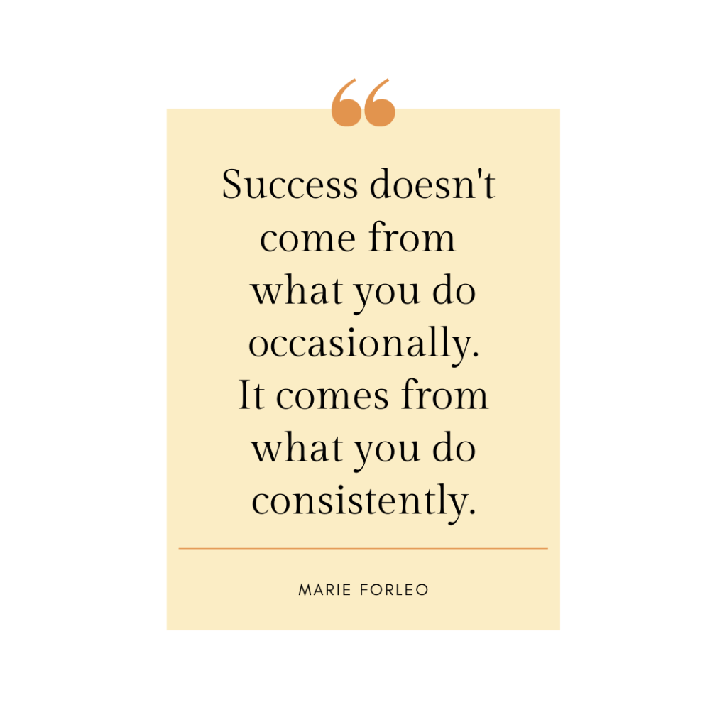Success doesn't come from what you do occasionally-Inspirational quotes for motivation and encouragement-MyFinancialHill
