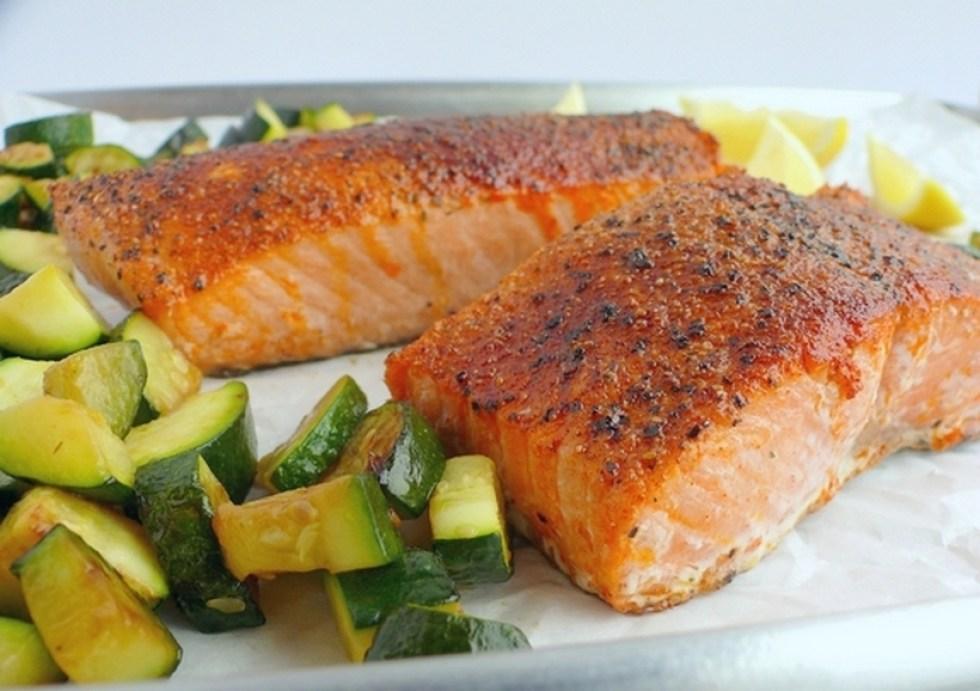 MyFinancialHill Perfect Air Fryer Salmon Healthy Low Carb Dinner