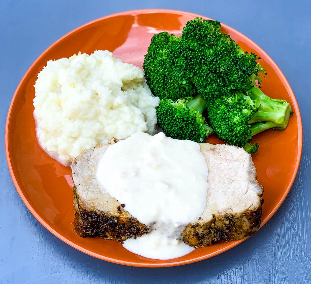 MyFinancialHill Air Fryer Pork Loin Healthy Low Carb Dinner