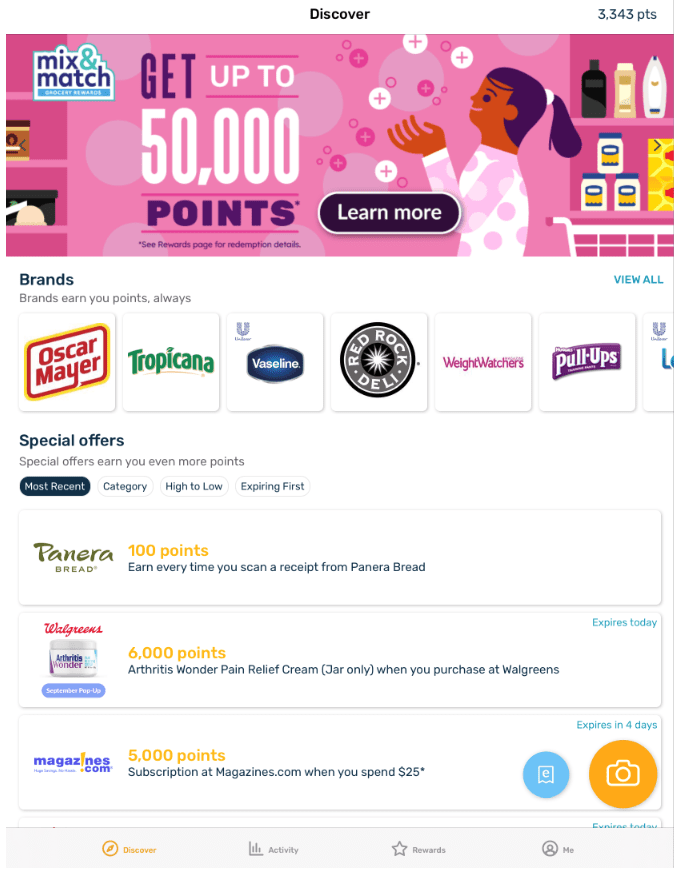 Earning points by scanning receipts with Fetch Rewards - My Financial Hill
