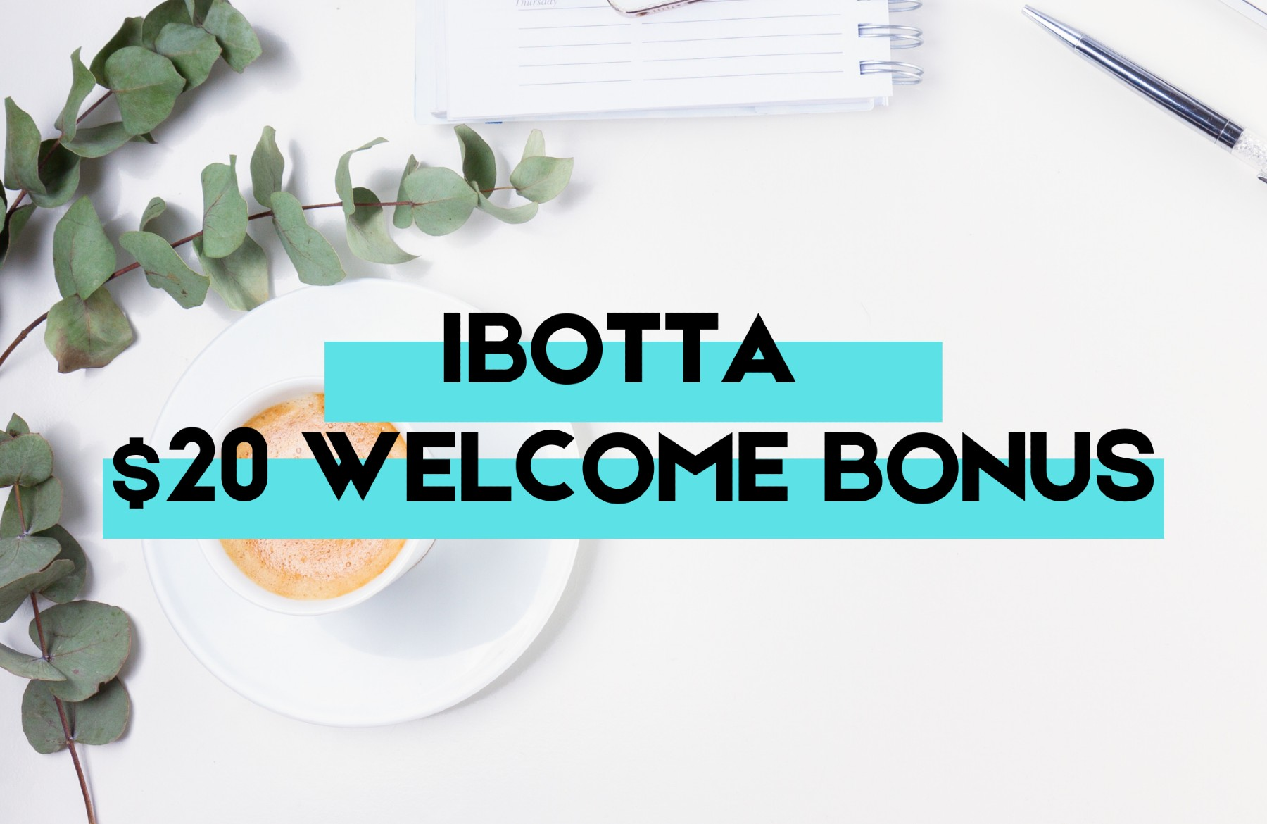 Ibotta 20 welcome bonus My Financial Hill