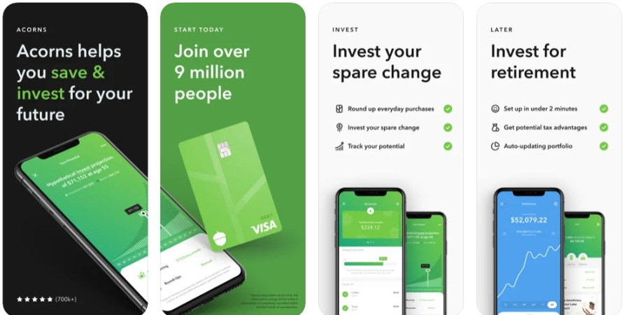 Acorns - How to make 10 dollars a day with PayPal- My Financial Hill