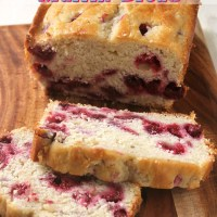 Red Raspberry Muffin Bread