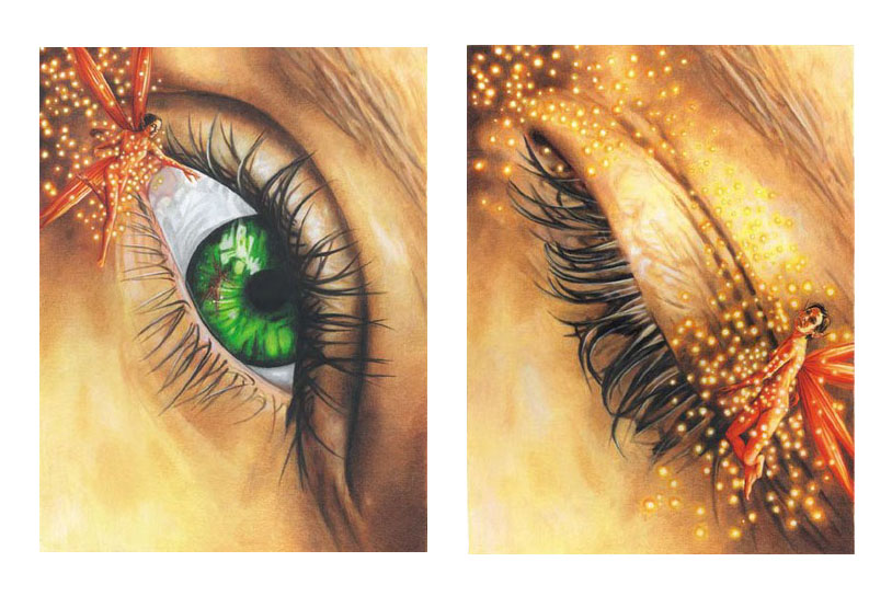 Magic In The Blink Of An Eye – Set Of Two Prints