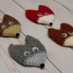 Fox ornament crochet pattern