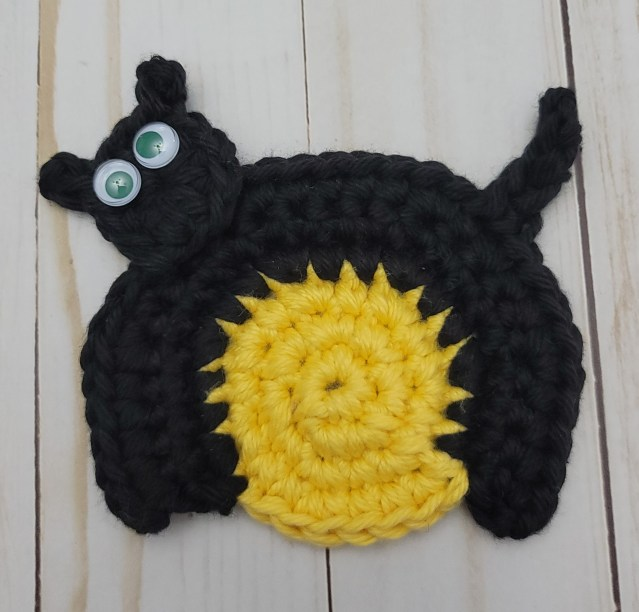 black cat crochet