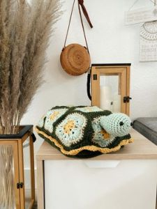 Benjamin the Turtle Nap Buddy Crochet Pattern