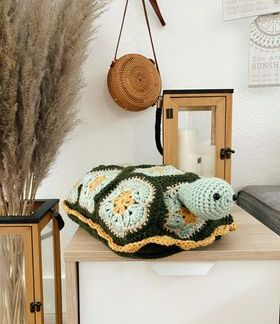 Benjamin the Turtle Nap Buddy Crochet Pattern