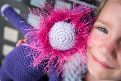 Bearded Monkey Crochet Pattern