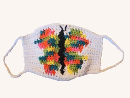Butterfly Face Mask Crochet Pattern