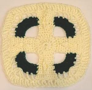 Celtic Cross Afghan Crochet Pattern