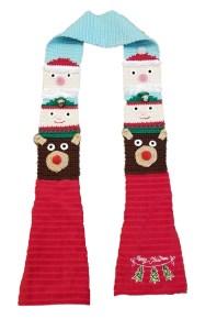 Christmas Totem Pole Kitchen Boa Crochet Pattern