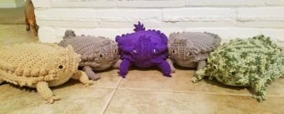 Texas Horny Toad Crochet Pattern