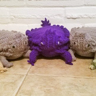 Texas Horny Toad Crochet Pattern