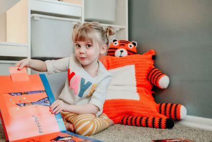 Tiger Pillow Sham Crochet Pattern