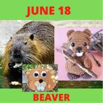 beaver crochet patterns