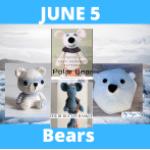 bear crochet patterns